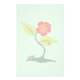 Papelaria Planta e flor