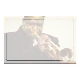Papelaria Trompetista do jazz