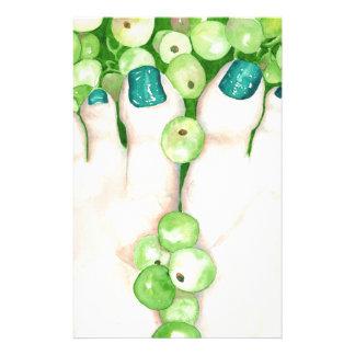 Papelaria Uvas verdes e Pedicure