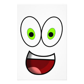 Papelaria Verde do smiley