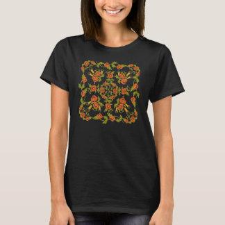 Papoilas e t-shirt do trigo