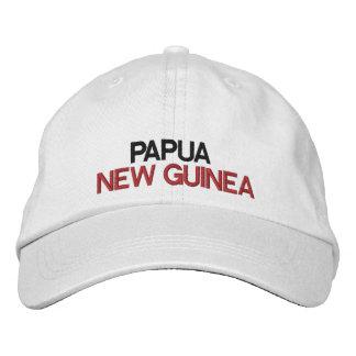 Papuá-Nova Guiné * chapéu ajustável Boné Bordado