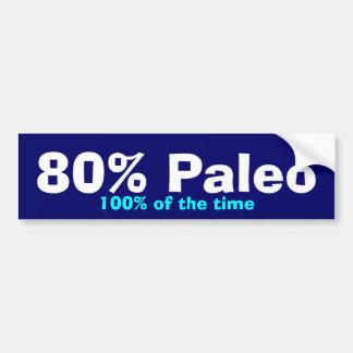 Pára-choque de 80% Paleo Adesivo Para Carro