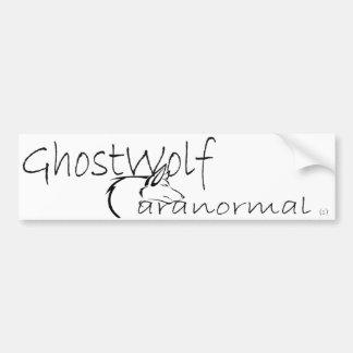 Pára-choque de GhostWolf Adesivo Para Carro