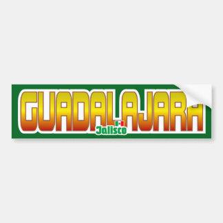 Pára-choque de Guadalajara Adesivo Para Carro
