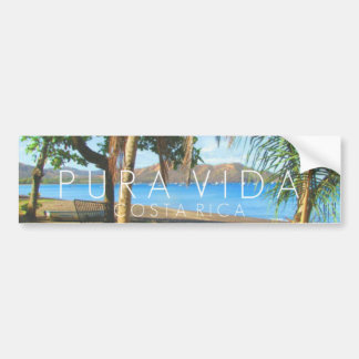Pára-choque de Playas del Coco Pura Vida Costa Adesivo Para Carro