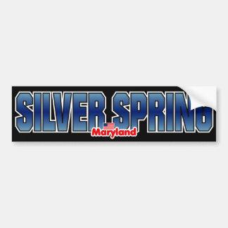 Pára-choque de Silver Spring Adesivo Para Carro