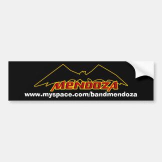 Pára-choque do bastão de Mendoza* Adesivo Para Carro