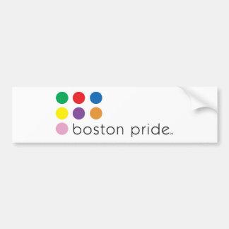 Pára-choque do orgulho de Boston Adesivo Para Carro