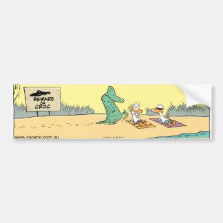 Pára-choque engraçado Sticke dos desenhos animados Adesivo Para Carro