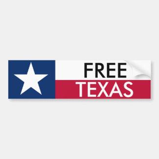 Pára-choque livre Sticket de Texas Adesivo Para Carro
