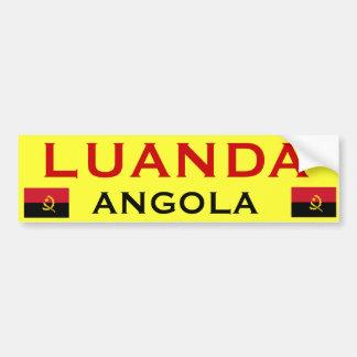 Pára-choque Sticker* de ANGOLA - de Luanda Adesivo Para Carro
