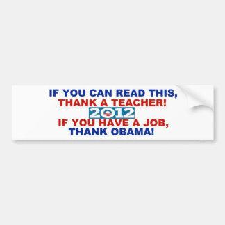 Pára-choque sticker.jpg de Obama 2012 Adesivo Para Carro