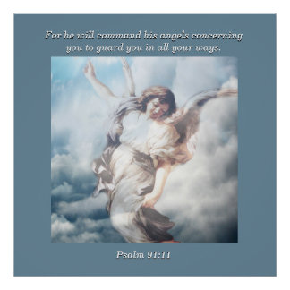 Para comandará seus anjos a respeito de você posters
