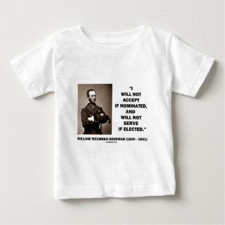 Para não aceitar se não citações nomeadas de Sherm Tshirts