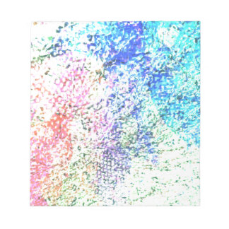 Para o amor da cor - Pastel do caleidoscópio Bloco De Notas