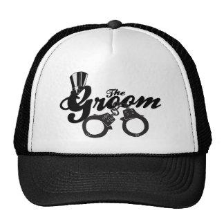 Para o chapéu do noivo boné
