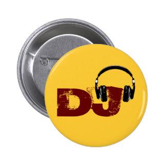 para o DJ Bóton Redondo 5.08cm