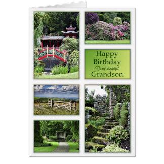 Para o neto, um cartão de aniversário com opiniões