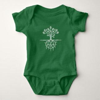 Para que o amor cresça o bebê Jersie Tshirts