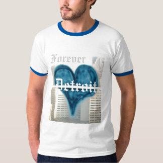 Para sempre Detroit (t-shirt) T-shirts