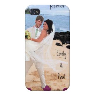 Para sempre seu cobrir do iPhone da folha de prova iPhone 4 Capa