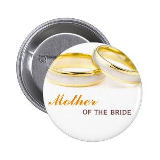 Para sempre seu dois anéis que wedding o pino do c botons