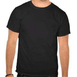 Para trás no dia camiseta