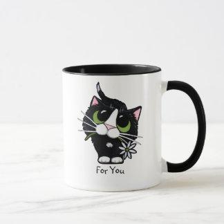 Para você - caneca do gato