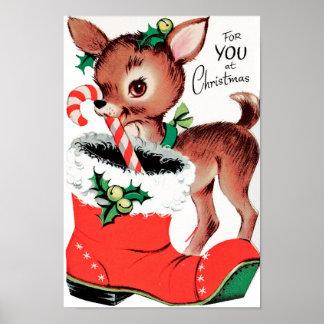 Para você na rena do Natal Pôster