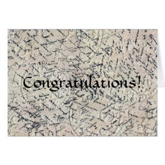 Parabéns Cartão