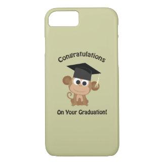 parabéns em seu macaco da graduação capa iPhone 7