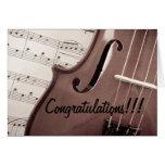 Parabéns musicais cartoes