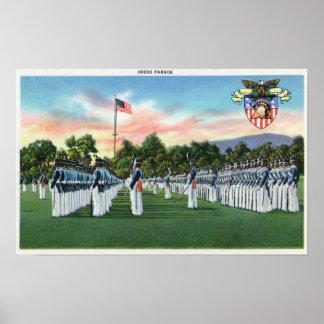Parada de vestido da academia militar # 2 poster