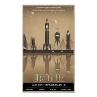 Parada do resto de Uranus Pôsteres