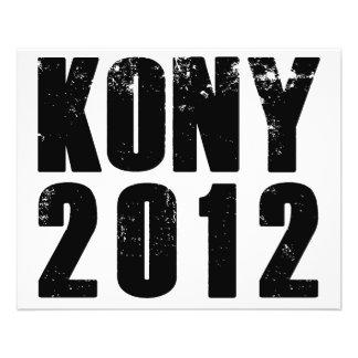 Parada Joseph Kony de Kony 2012 Flyer 11.43 X 14.22cm