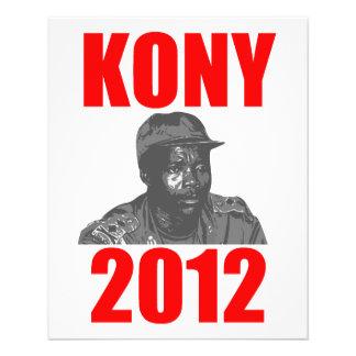 Parada Joseph Kony de Kony 2012 Panfletos Personalizados