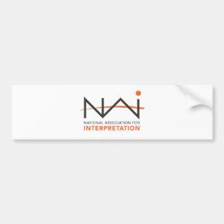 Parafernália do logotipo do NAI Adesivo Para Carro