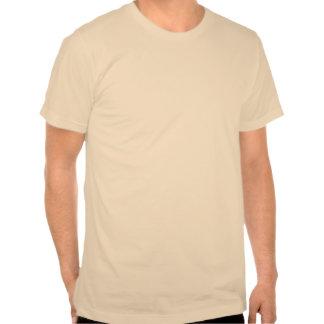 Parafuso de relâmpago vintage camisetas