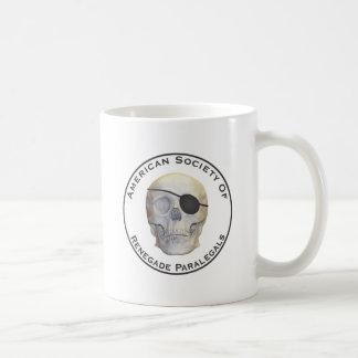 Paralegals renegados caneca de café