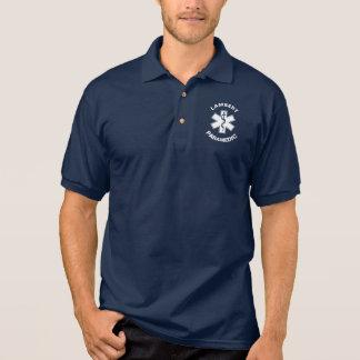 Paramédico EMT EMS Camisa Polo