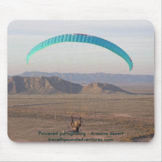 Parapente psto - deserto da arizona mouse pad