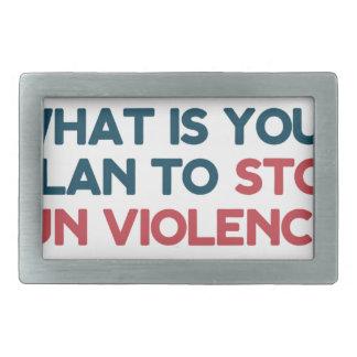Pare a violência armada