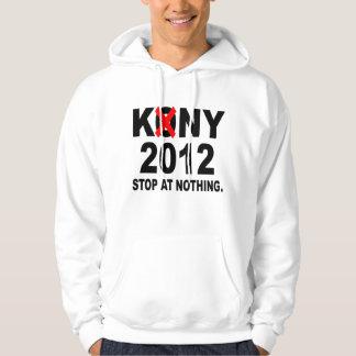 Pare Joseph Kony 2012, parada em nada, político Moletom Com Capuz