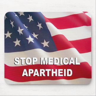 Pare o Apartheid médico Mousepad