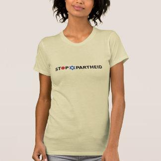Pare o Apartheid no Tshirt leve