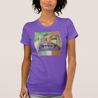 Parede da aguarela t-shirts
