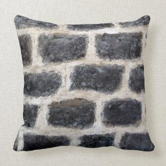 Parede da rocha do castelo almofada