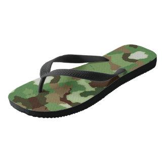 Pares de sandálias do falhanço de sacudir do