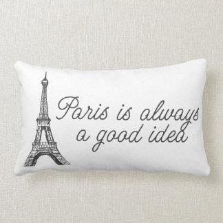 Paris é sempre uma boa ideia almofada lombar